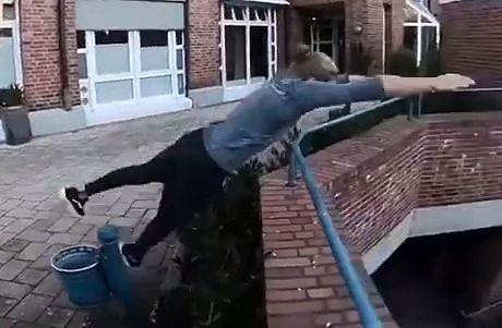 Hardkorowy parkour