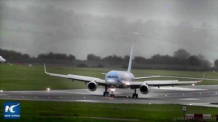 Perfekcyjne lądowanie z 80 km/h crosswindem