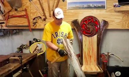 """Robienie łuku z drewna, czyli kompilacja """"Śmieszne filmiki"""""""