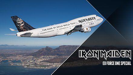 Opowieść o samolocie Iron Maiden