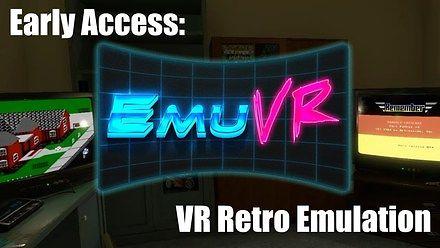 Granie w stare gry wewnątrz gry w wirtualnej rzeczywistości