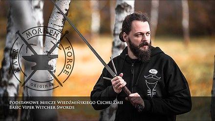 Prawdziwe wiedźmińskie miecze w akcji