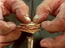 Tradycyjna produkcja noży w Finlandii