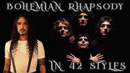 Bohemian Rhapsody w 42 stylach
