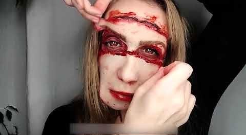 Zrób sobie straszny makijaż