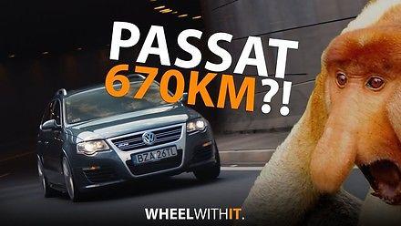 Passat R36 Turbo - szybszy niż somsiada