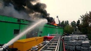 Gaszenie pożaru z perspektywy strażaka