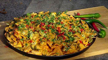 Chipotle Cheese Nachos z Arizony - Kuchnia Kwasiora