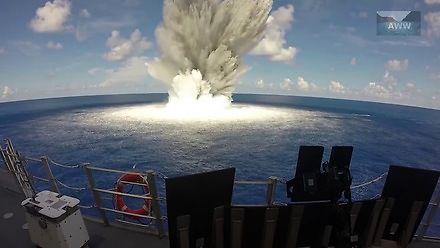 Wyjątkowo malownicze podwodne eksplozje
