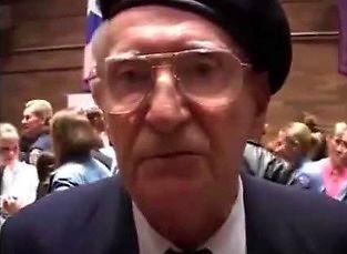Polski jeniec Auschwitz mówi prawdę o Żydach