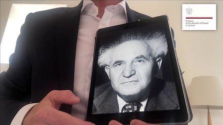 Filmik ambasadora Polski w Izraelu na 100-lecie odzyskania przez Polskę niepodległości