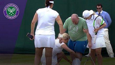 Nadal przywalił głową we framugę, czyli najzabawniejsze momenty z Wimbledonu