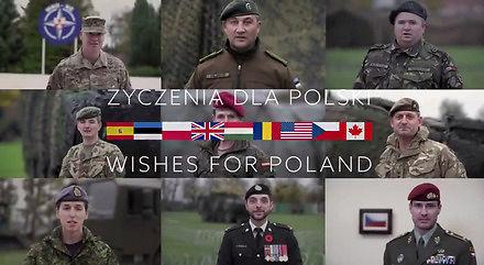 Sojusznicy składają Polakom życzenia z okazji 100. rocznicy odzyskania niepodległości