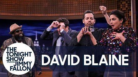 David Blaine u Fallona - Trik z zaszytymi ustami
