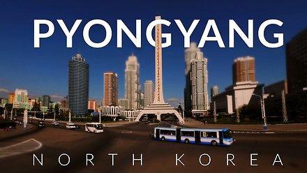 Pyongyang  z drona - stolica Korei Północnej, jakiej nie widzieliście