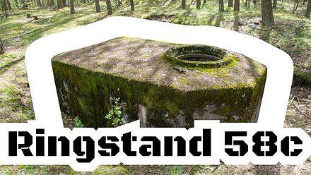 Ringstand 58c (tobruk) - najczęściej budowany niemiecki schron bojowy