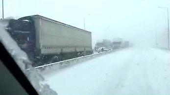 Pierwszy śnieg w tym roku w Rosji