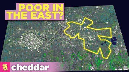 Dlaczego wschodnie dzielnice miast są biedniejsze?
