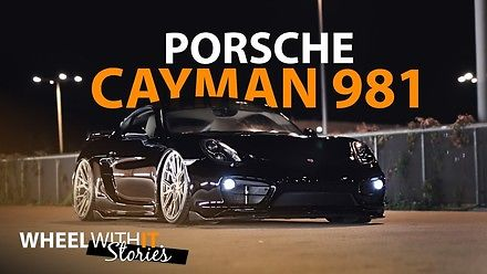 Porsche Cayman 981 na Air Ride