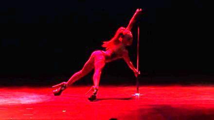 Amy Hazel - Miss tańca na rurze w Australii