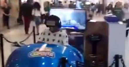 Mocna reakcja na wirtualną rzeczywistość