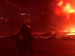 Polski akcent podczas protestów w Paryżu