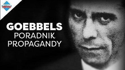 Porady propagandowe na przykładzie Goebbelsa