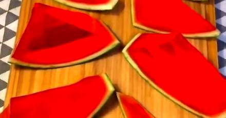 Galaretka z arbuza