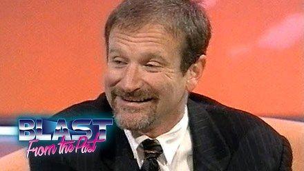 Robin Williams - wywiad z 1994 roku o głosach m.in. Pani Doubtfire czy Dżina w filmie Aladyn