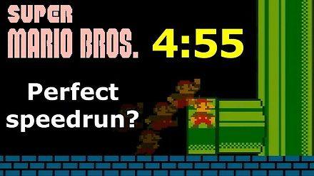Skoki z precyzją jednego piksela - analiza speedrunu w Mario
