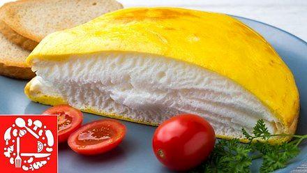 Przepis na pysznie wyglądający omlet z pianką