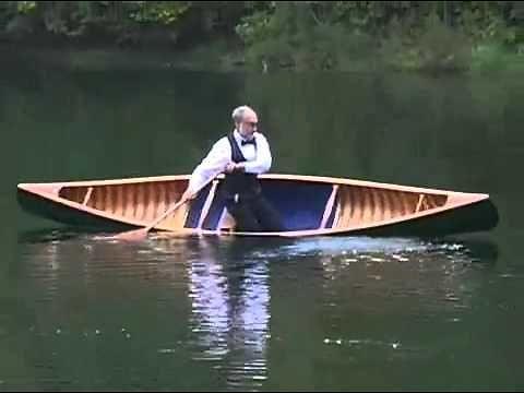 Facet i jego triki w canoe