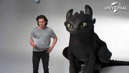 Jon Snow i Szczerbatek