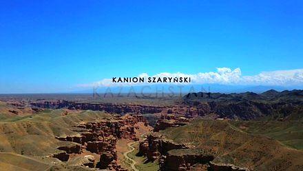 Ogromny kanion w Kazachstanie, wydarty ze stepu