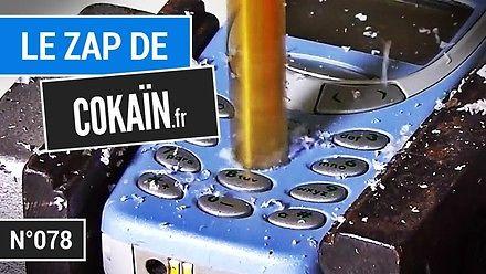 Niszczenie starej Nokii, czyli kompilacja Le Zap de Cokaïn.fr n°078