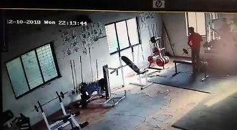 'Koksu' na siłowni