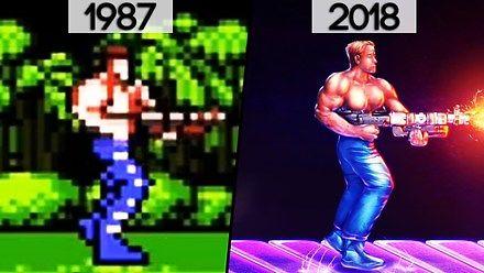 Historia ewolucji gry - Contra (1987-2018)