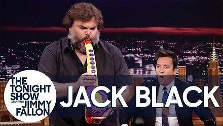 Jack Black i jego epicki instrument Sax-A-Boom