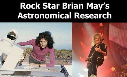 Czego Brian May dowiedział się o pyle międzyplanetarnym?