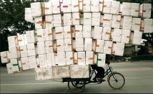 Mistrzowie transportu towarów z Azji