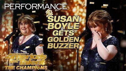 Susan Boyle powraca w wielkim stylu do specjalnej, amerykańskiej wersji Mam Talent: Mistrzowie