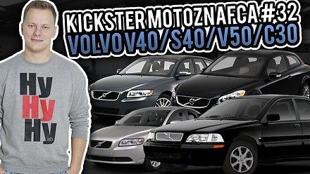 Volvo V40 / S40 / V50 / C30 - Kickster MotoznaFca