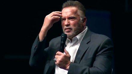Arnold Schwarzenegger - mowa, która poruszyła internety