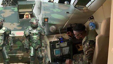 Parada wojskowa w Ghanie