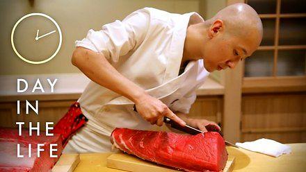 Dzień z życia mistrza sushi