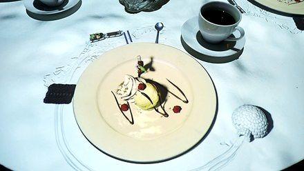 Tak wygląda oczekiwanie na deser w belgijskiej restauracji