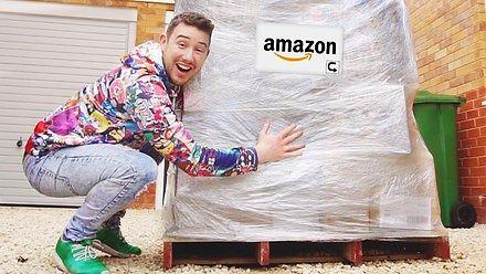 Gościu kupił paletę zwróconych towarów z Amazona