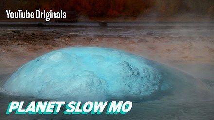 Islandzki gejzer w slow motion