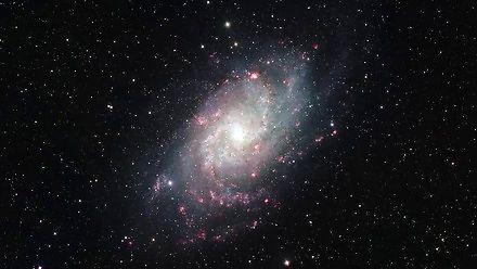 Niesamowite zdjęcie Galaktyki Trójkąta zrobione przez Hubble'a