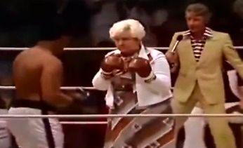 Muhammad Ali walczy z przypadkowymi ludźmi